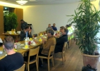 Langschläferfrühstück mit dem Bürgermeister