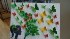 Großes Schmetterlings-Collagebilder-Basteln im Mai