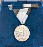 Silbernes Verdienstzeichen der Stadt Schwaz für ehrenamtliche Mitarbeiter vom Haus der Generationen