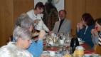 Turbulenter Mittwoch im Haus der Generationen zuerst Frühstück mit dem Hr. Bürgermeister der Stadt Schwaz, Dr. Hans Lintner und dann KOMM SING MIT