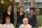 Fr. LR Christine Baur besuchte die Bewohner vom Haus der Generationen