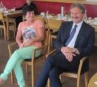 Besuch des Hr. Bgm. Dr. Hans Lintner im Haus der Generationen...