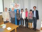 Besuch der Landesrätin Fr. Dr. Beate Palfrader beim 3. Vernetzungstreffen der Computerias Tirol in der Computeria Schwaz im Haus der Generationen