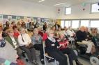 Besuch der Bewohner vom Haus der Generationen in der neuen Mittelschule Schwaz 2